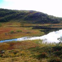 Fjærlandsete over Lusaskard 025