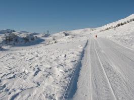 Vinter-Leikanger-071 Kallbakk mot Dalseteskard og Smørklett