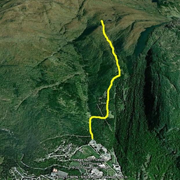 Tuftahaug via Fadnastølen 000