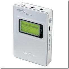 Creative Zen NX 30GB