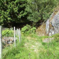 Utsiktspunkt nær Kyrafossen 002