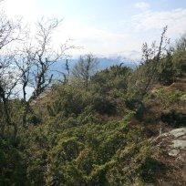 Utsiktspunkt nær Kyrafossen 010