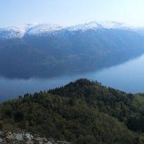 Utsiktspunkt nær Kyrafossen 016